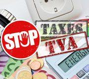 Pétition contre la TVA sur les taxes